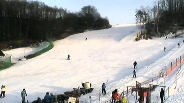 Stok narciarski - Chrzanów