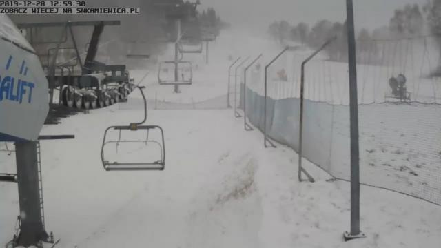 Stacja narciarska - Kamienica
