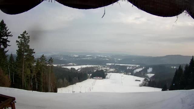 Lesko-Ski górna stacja narciarska - Weremień